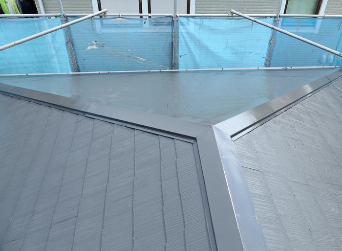 国立市中 屋根塗装 完工