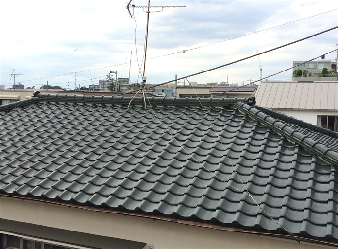 瓦屋根のメンテナンス