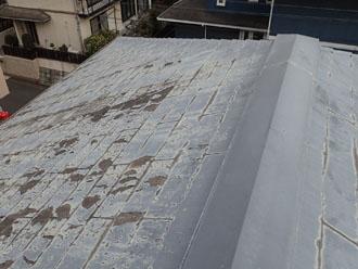 屋根の塗膜の劣化が酷い