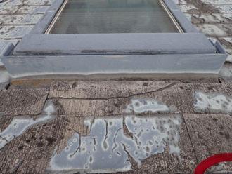 清瀬市中清戸で屋根葺き替えか屋根カバー工法をご検討中のお家を点検
