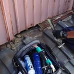調布市深大寺北町で雨押え板金と漆喰詰め直し工事を実施