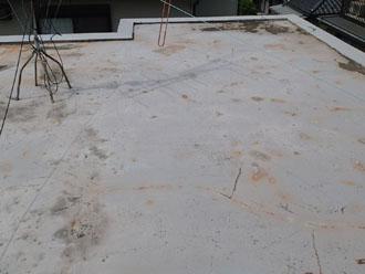 中央区現在の陸屋根