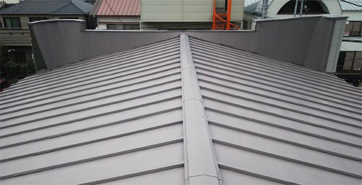 屋根のパラペット部分