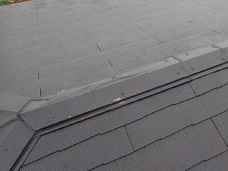 いい加減な施工がされた屋根