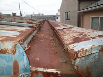 屋根の箱樋