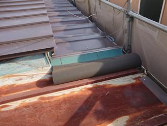 防水の敷設