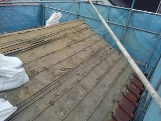 葺き土を除去