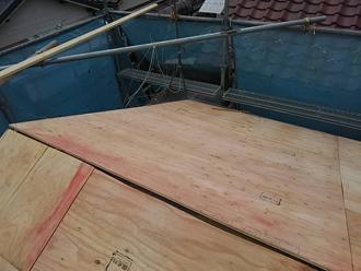 野地板は構造用合板