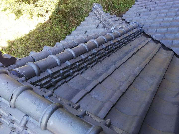 屋根の部分葺き直し竣工