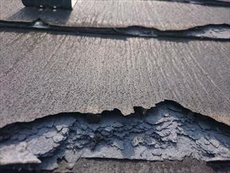 西東京市南町でボロボロになったニチハパミールを葺き替え工事で直します