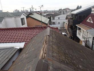 施工前の屋根状態