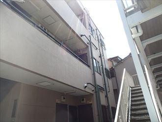屋上へのアプローチ