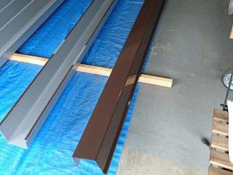 角樋を塗装