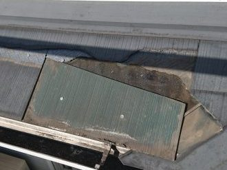 スレート屋根取付
