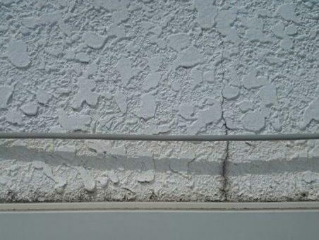 外壁のヒビ割れ