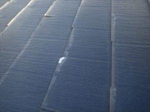 屋根のめくれと剥離