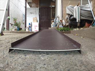 ガルバリウム鋼板瓦棒屋根ドブ