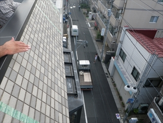 外壁と同じではなく屋根として認識しなければなりません