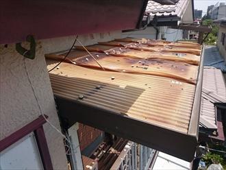 東大和市清原で雹によって被害を受けたのは波板だけではありません