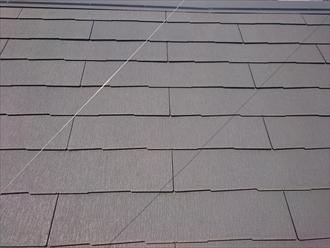 築9年のスレート葺き屋根はそれ程の傷みではありません