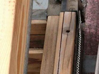 木材に亀裂