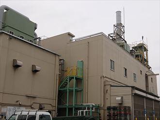 江東区新砂の工場点検
