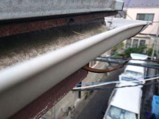 金具を固定する針金の劣化