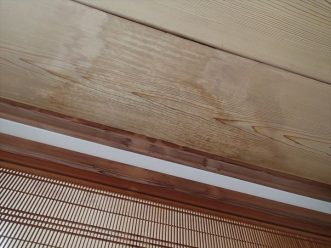 天井からシミ