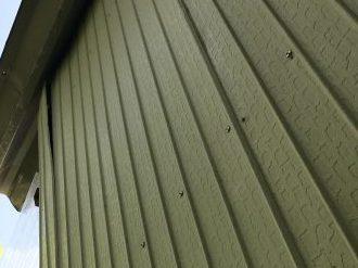 外壁材の剥がれ
