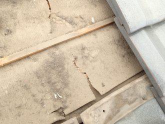 破れた防水紙