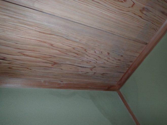 居間の雨漏り