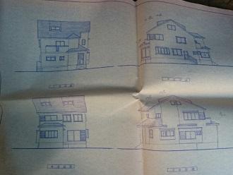 建物立面図