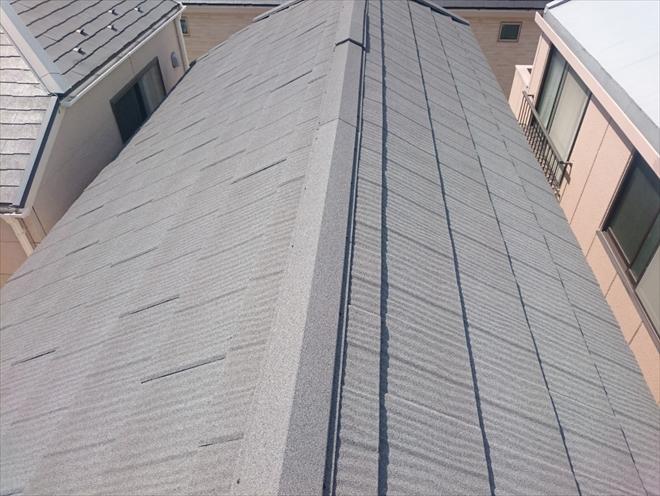 渋谷区上原でエコグラーニでカバー工事した屋根の定期点検を実施しました