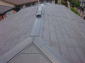 スレート屋根のメンテナンスです