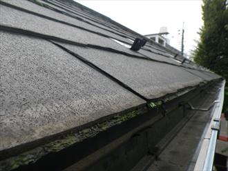 西東京市新町で劣化したニチハのパミールの屋根をカバー工事でメンテナンス