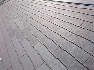 スレート屋根の上にカバー工事します