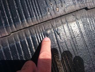 中野区上高田で築30年のスレート屋根にガルバリウム鋼板で屋根カバー工事のご提案