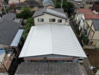 俯瞰的に見る屋根