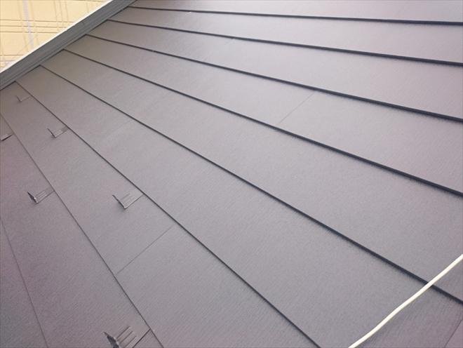 屋根カバー工事が完成しました