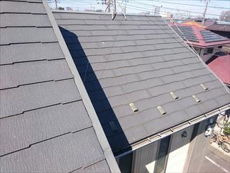 屋根に上らなければ分からない劣化の状況