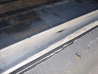棟板金下の貫板が劣化。釘が効かなくなります。