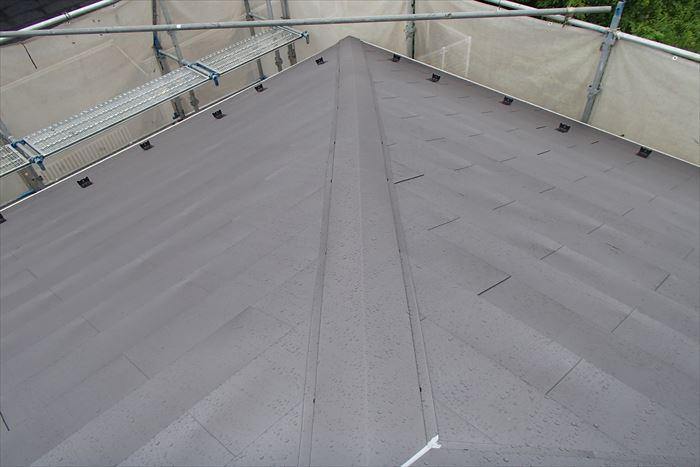 ガルバリウム鋼板の屋根カバー