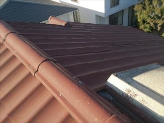 屋根のトップライトが雨漏りの原因でした