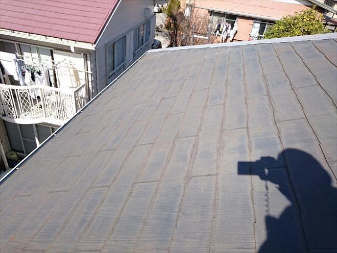 初めてメンテナンスをおこなうスレート屋根