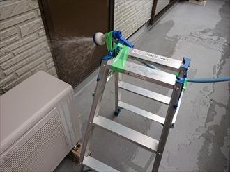 西東京市谷戸町で雨漏りの原因箇所特定のため散水試験をおこないました