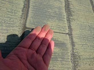 小金井市中町で雨漏りしているスレート屋根を葺き替え工事で直します