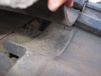 トントン葺きの防水状況