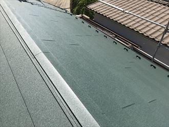ガルテクトの屋根葺き替え
