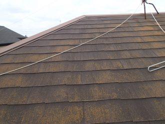 スレート屋根劣化の状態