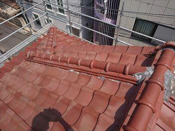 施工前屋根瓦屋根